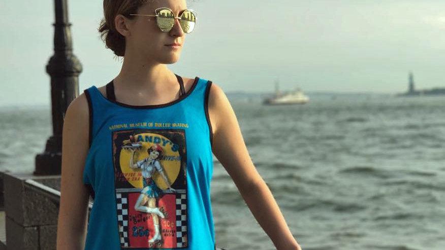 Torquise Racerback T- shirt