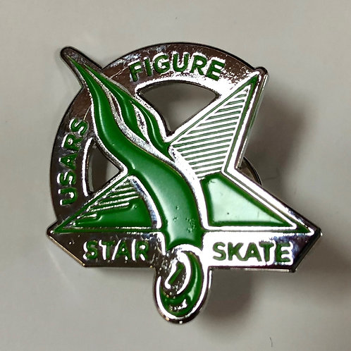 Star Skate Figure Pin Level 1
