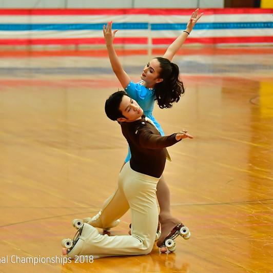 Artistic Roller Skating - Team Dance