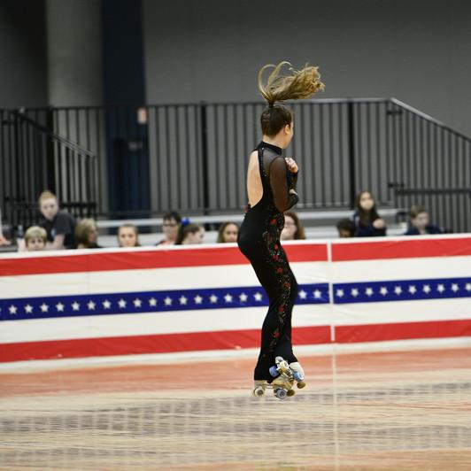 Artistic Roller Skating - Free Skate