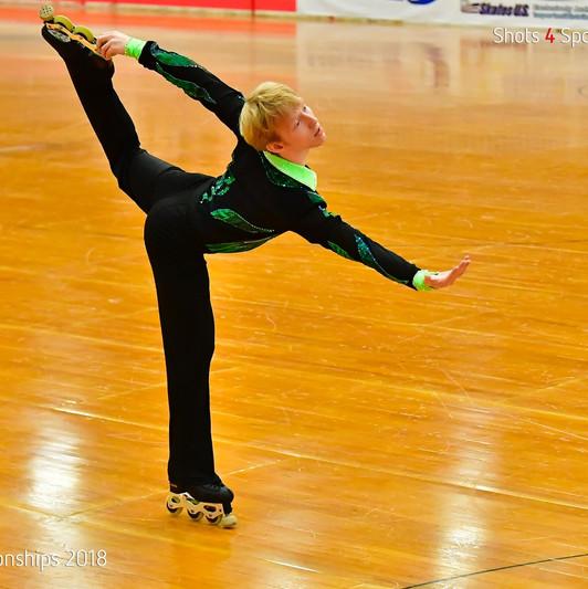Artistic Roller Skating - Inline Free Skate