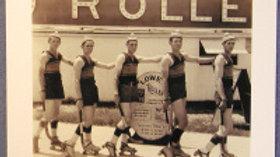 Roller Polo Postcard