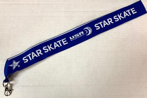 Star Skate USA Roller Sports Lanyard
