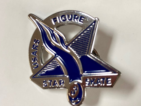 Star Skate Figure Pin Level 3