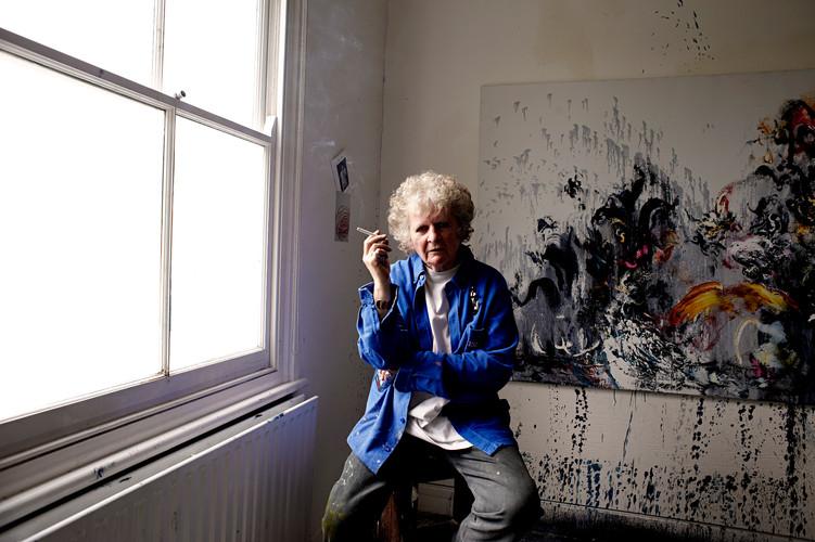 Maggi Hambling CBE Portrait by Jens Marr