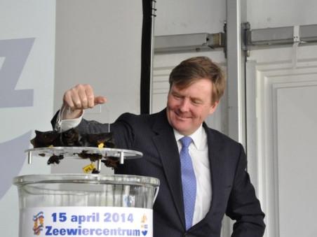 Opening zeewiercentrum NIOZ door koning Willem-Alexander