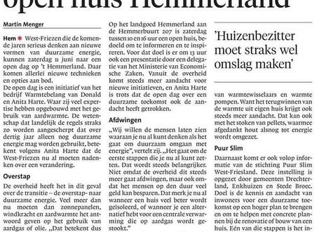 Noord-Hollands Dagblad over de Open Dag
