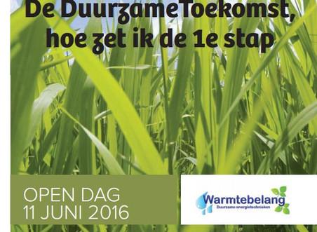 Open Dag 11 juni 2016