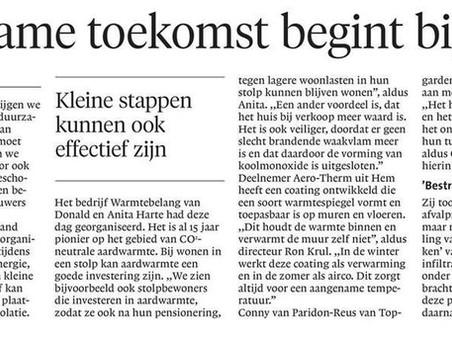 Mooie terugblik Open Dag in het Noord-Hollands Dagblad