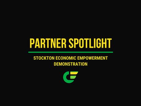 February Partner Spotlight: Stockton Economic Empowerment Demonstration (SEED)