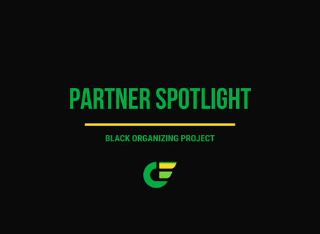 August Partner Spotlight: Black Organizing Project