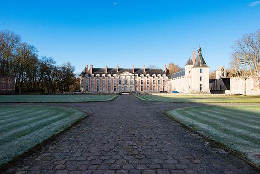 Château Fleury as you enter