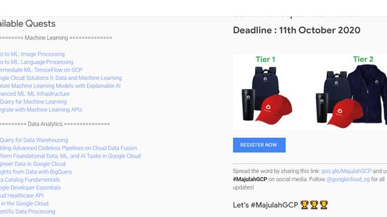 #MajulahGCP - Learn Data Analytics & Machine Learning on Google Cloud
