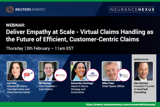 Deliver Empathy at Scale with Liberty Mutual, Farmers Insurance, AAA and LexisNexis Risk Solutions