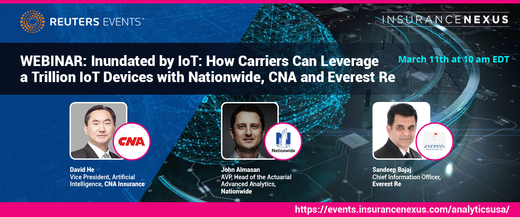 Inundated by IoT: How Carriers Can Leverage a Trillion IoT Devices with Nationwide, CNA and Everest