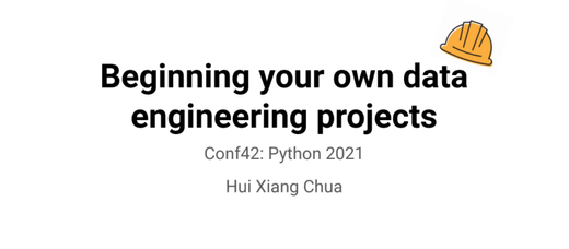 Conf42: Python 2021 Talk - Announcement
