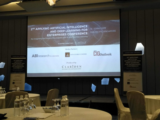 Write-up on 2nd Applying Artificial Intelligence and Deep Learning for Enterprises Conference