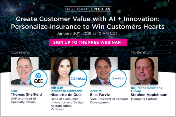 Insurance AI and Analytics webinar - Announcement