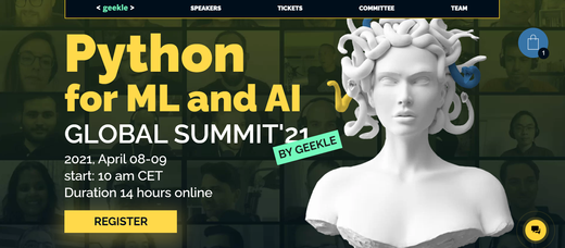 Python for ML and AI Virtual Summit - Announcement