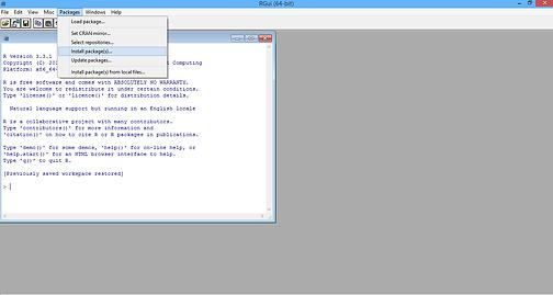 Text mining - Process - R