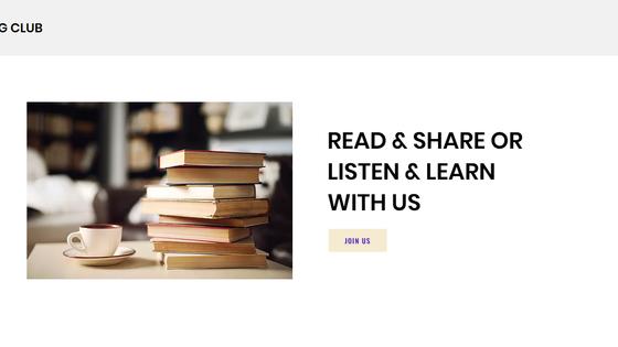Tech Reading Club - Announcement