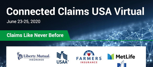 10,000+ claims executives gather for Connected Claims USA Virtual by Insurance Nexus and Reuters Eve