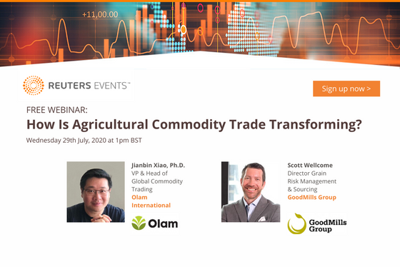 Reuters Events Host Panel with Olam and GoodMills on Agricultural Commodity Trading