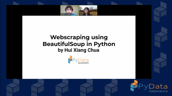 PyData Salamanca - Webscraping using BeautifulSoup in Python - Announcement