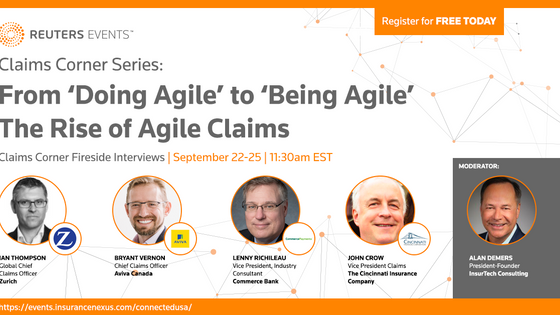 Join Chief Claims Officers to explore the rise of Agile Claims