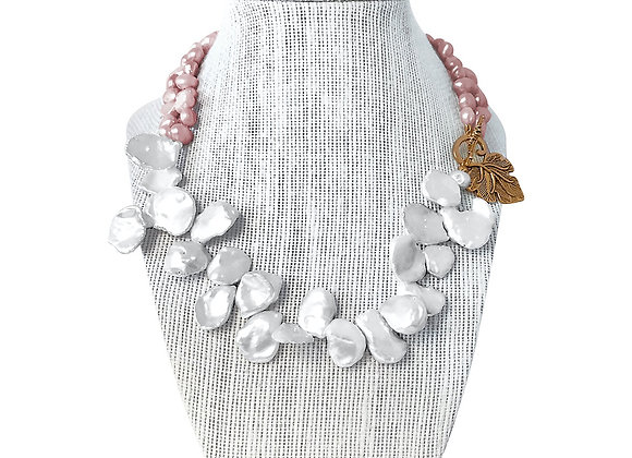 Keshi & Baroque Pearls Necklace