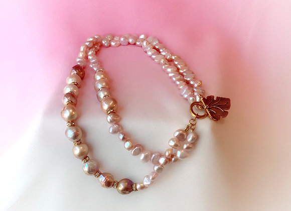 Edison & Baroque Pearls Necklace