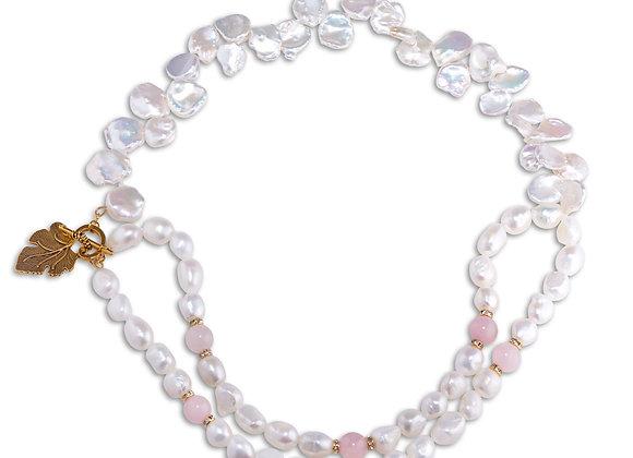 Keshi & Baroque Pearls Necklace