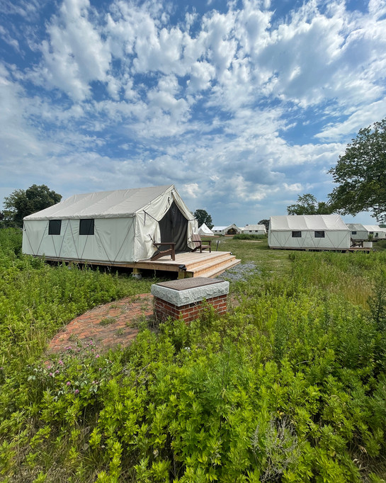 GLAMPING @ GOVERNORS ISLAND
