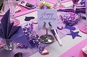 pink-purple-theme-party-table-setting-13