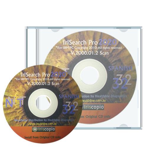 IrisSearch Pro 2000 - Programa ORIGINAL