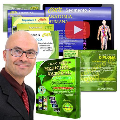 Diplomado Virtual en Tratamientos Naturistas