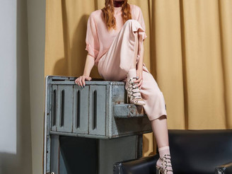 Amalia in campaign for Perugia shoes <3