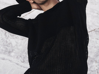 Nick V. in campaign for Combos Knitwear! <3