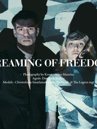 Christoforos&Mia: HUF Magazine