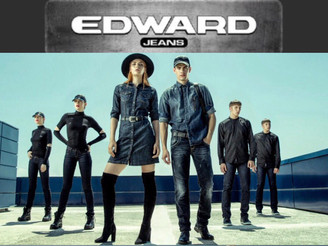Amalia&Nick V. in campaign for Edward Jeans