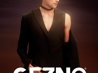 Kristian: Back cover&editorial for Gezno magazine