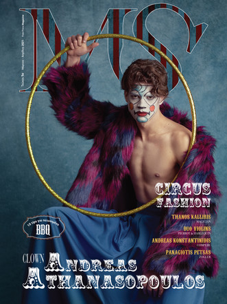 Andreas: Cover&Editorial for Man Secret Magazine