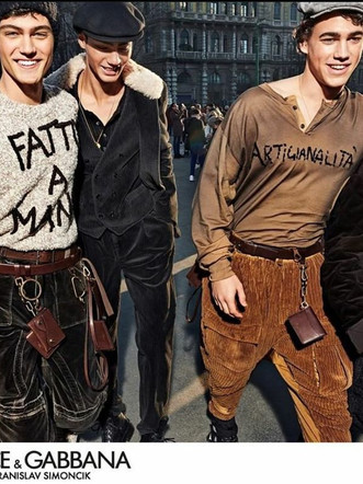 Evans:campaign for Dolce&Gabbana FW 2020! Booked by The Legion MGT. Special thanks to NoLogoMilano.