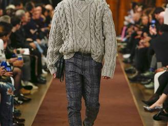"Panagiotis walking also the 2nd Dolce&Gabbana ""Secret show"""