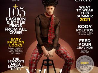 Nicolaos M.: Cover story for Gezno Magazine