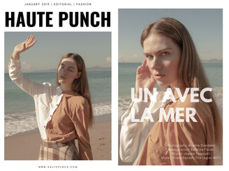 Ada for Haute Punch magazine! Cover and  editorial
