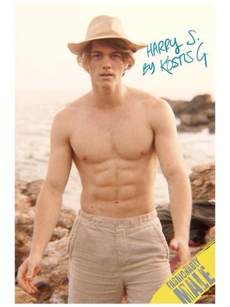 Harris: Fashionably Male Magazine
