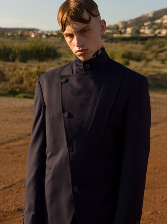 Dimitri Stam and George Dry: Sotiris Gerogiou Lookbook