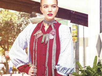 Anja in Veintitantos magazine