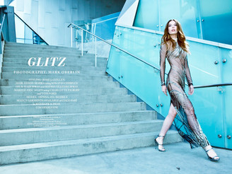 Find our beautiful Denisa in Industry magazine! #LA #California #editorial